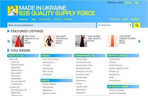 Made in Ukraine – Marktplatz für den EU-Export