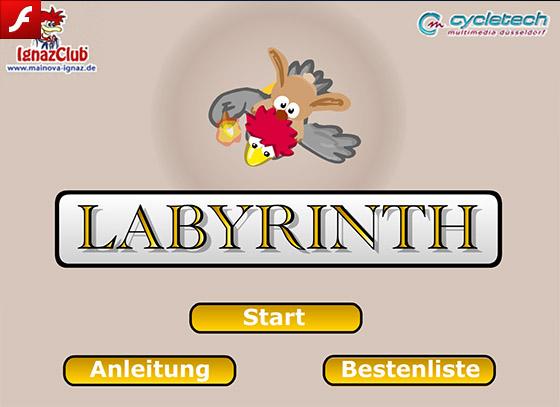 Labyrinth Online Spiel
